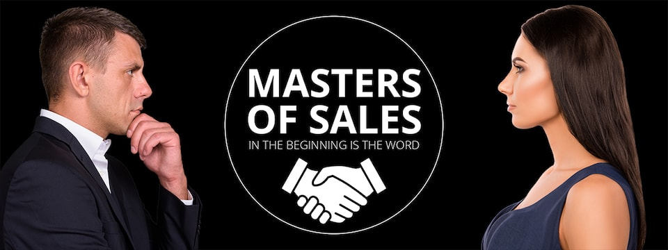 Masters of Sales - In the beginning is the Word